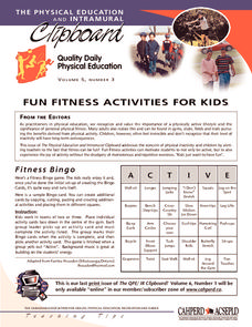 Fun Fitness Activities For Kids Activities & Project