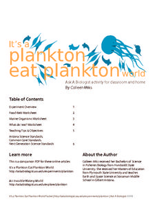 It's a Plankton Eat Plankton World Activities & Project