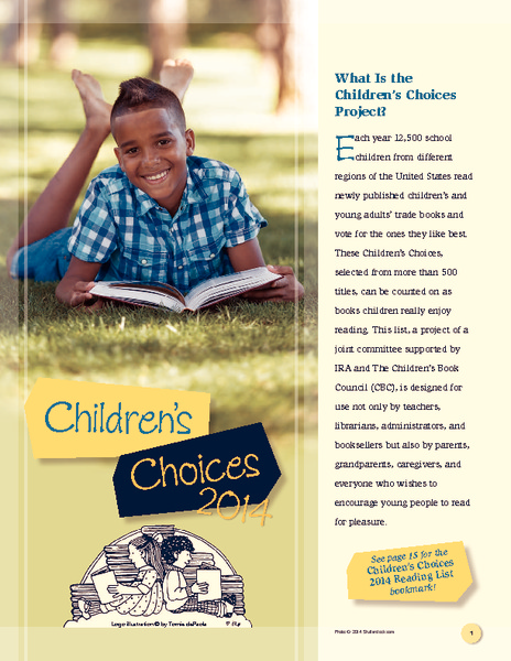 Children's Choices 2014 Handouts & Reference