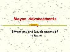 Mayan Advancements Presentation