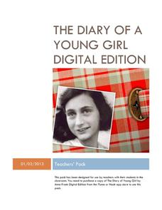 The Diary of a Young Girl Digital Edition Activities & Project