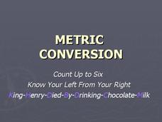 Metric Conversion Presentation