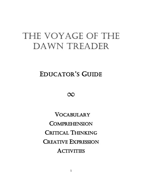 Educator's Guide to The Voyage of the Dawn Treader Unit
