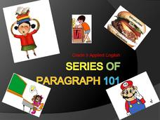 Series of Paragraphs Presentation