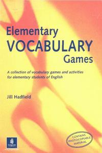 Elementary Vocabulary Games Activities & Project