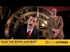 """Fear the Boom and Bust"" a Hayek vs. Keynes Rap Anthem Video"