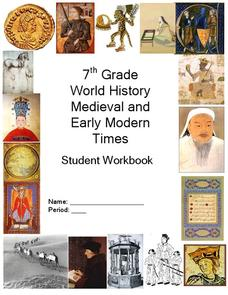 World History Medieval and Early Modern Times Workbook