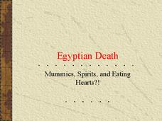 Egyptian Death: Mummies, Spirits, and Eating Hearts?! Presentation