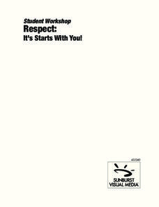 Respect: It Starts With You! Worksheet