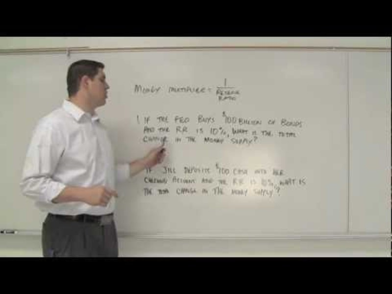 Money Multiplier & Reserve Requirement Video