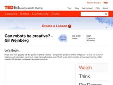 Can Robots Be Creative? Video