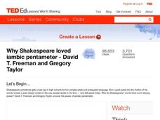 Why Shakespeare Loved Iambic Pentameter Video