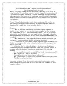 Gary Paulsen Hatchet Lesson Plans & Worksheets Reviewed by Teachers