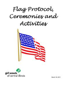 Flag Protocol, Ceremonies and Activities Activities & Project