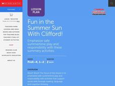 Fun in the Sun Lesson Plan