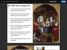 How to Analyze Art Presentation