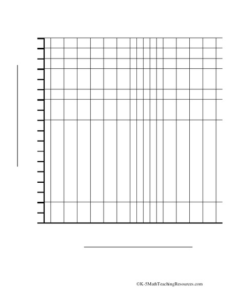 Blank Bar Graph Template Printables & Template