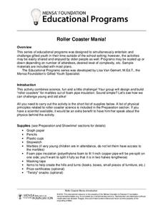 Roller Coaster Mania! Activities & Project
