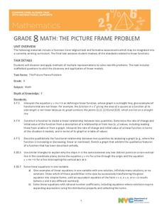 The Picture Frame Problem Unit
