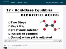 Diprotic Acids Video