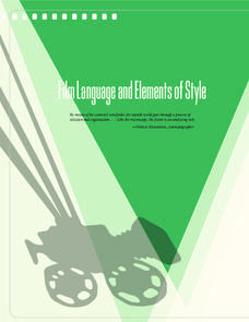 Film Language and Elements of Style Unit