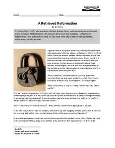 reformation lesson plans