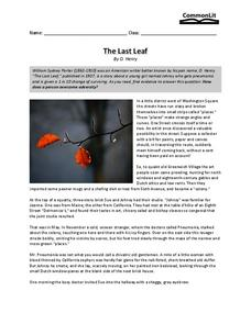 lesson of the last leaf