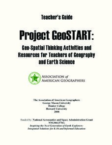 Project GeoSTART Unit