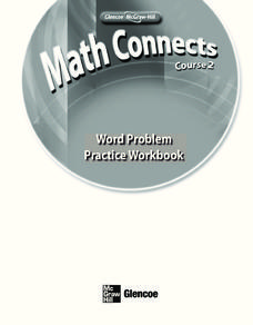 Word Problem Practice Workbook Workbook