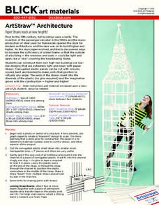 ArtStraw Architecture Lesson Plan