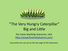 The Very Hungry Caterpillar Big and Little Activity Presentation