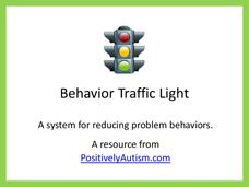 Behavior Traffic Light Printables & Template