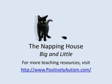 """The Napping House"" Big and Little Presentation"
