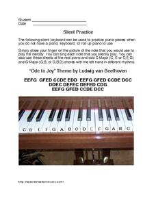 Silent Practice Worksheet