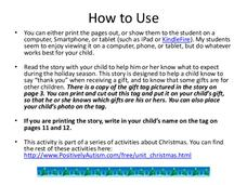 """Getting Presents at Christmas"" Social Skill Story Presentation"