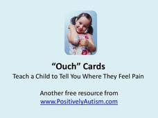"""Ouch"" Cards Printables & Template"