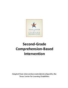 Second-Grade Comprehension-Based Intervention Unit