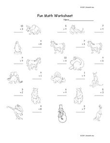Fun Math Worksheet 14 Worksheet