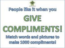 Give Compliments! Printables & Template