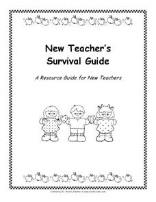 New Teacher's Survival Guide Professional Document
