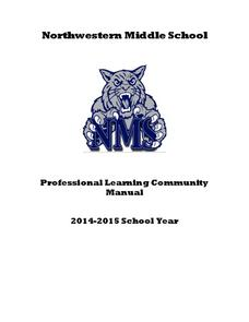Professional Learning Community Manual Printables & Template