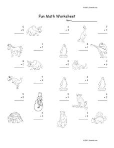Fun Math Worksheet 23 Worksheet