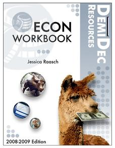 Economics Workbook Worksheet