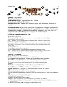 Lions, Tigers and Bears Oh Animals! Printables & Template