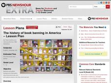 The History of Book Banning in America Lesson Plan