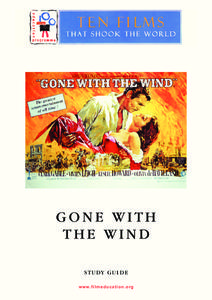 """gone with the wind analysis New york post latest in about """"gone with the wind,'' which won a then resisted any analysis of the film's problematic racial politics until a 26."""