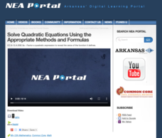 Solve Quadratic Equations Using the Appropriate Methods and Formulas Video