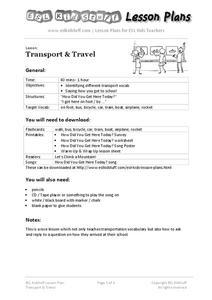 Esl Lessons Train Travel Lesson Plans & Worksheets