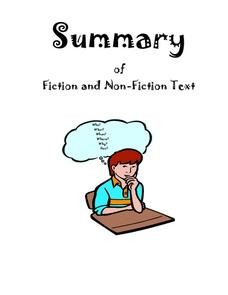 Summary of Fiction and Non-Fiction Text Unit