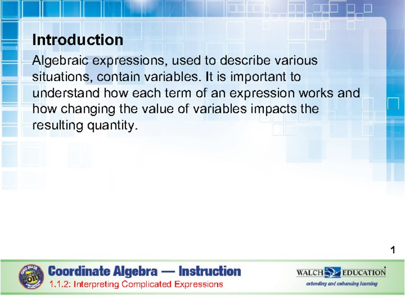 Linear & Exponential Functions Presentation
